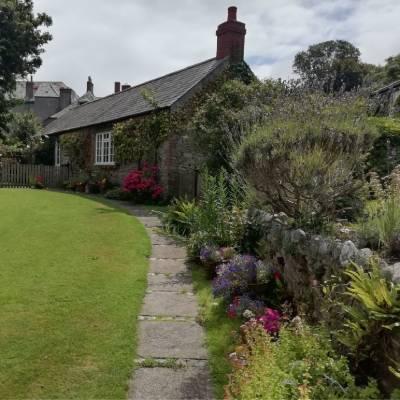 Entrance to Lady Pamela's cottage